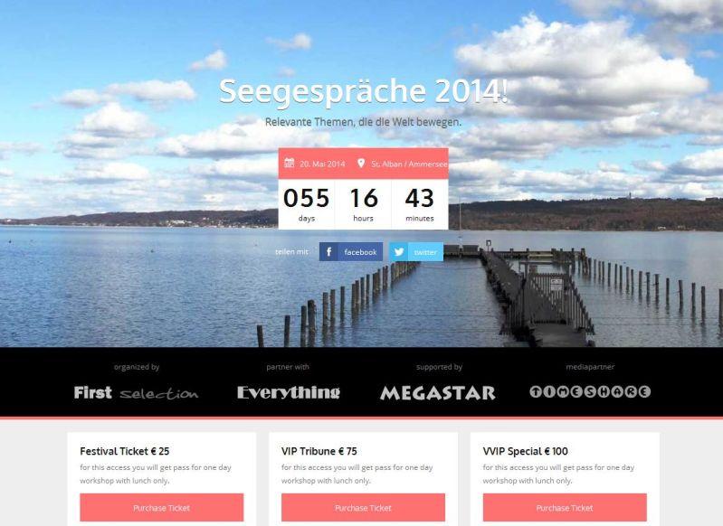 Event-Webseite